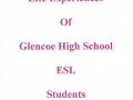 Glencoe High School; An Anthology