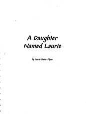 A Daughter Named Laurie