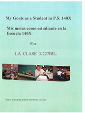 My Goals as a Student in P.S. 140X
